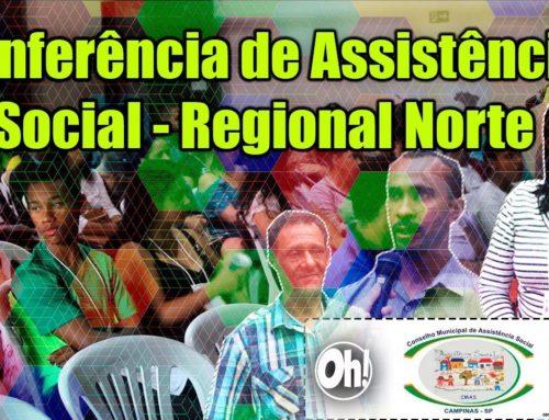 Conferência de Assistência Social – Regional Norte