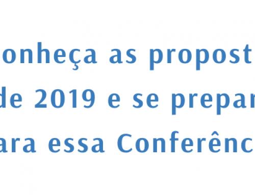 Conheça a Conferência de 2019